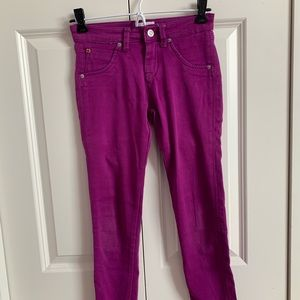 Hudson Fucshia Jeggings